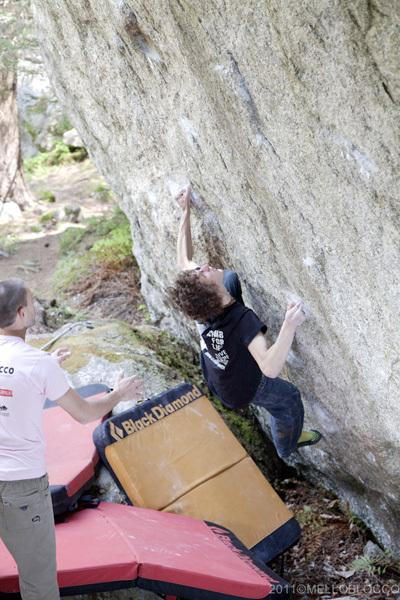 Melloblocco 2011, Melloblocco - Klaus Dell'Orto