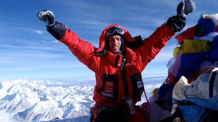 British mountaineer Kenton Cool, archive Kenton Cool