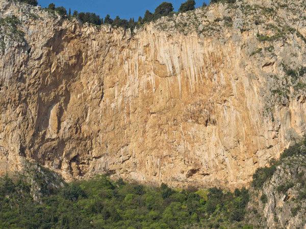 """Monte Pellegrino - Parete dei Rotoli, Sicilia, Giampaolo Calzà """"Trota"""""""