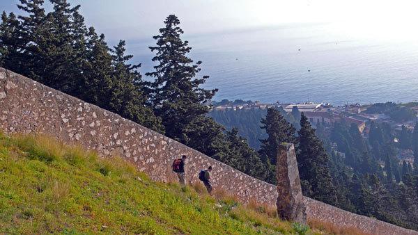 "The cemetery wall, Giampaolo Calzà ""Trota"""