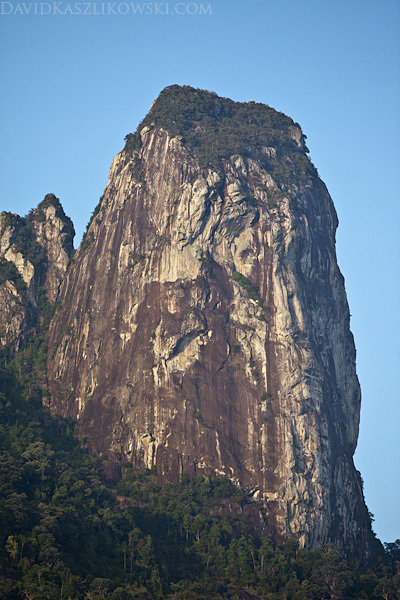 The South Tower of Bukit Nanek Simukut, also known as Dragon's Horns or Twin Peaks, on Tioman Island, Malaysia, David Kaszlikowski