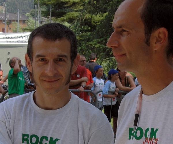 I tracciatori del Rock Master da 6 edizioni: Donato Lella e Leonardo Di Marino, Planetmountain.com