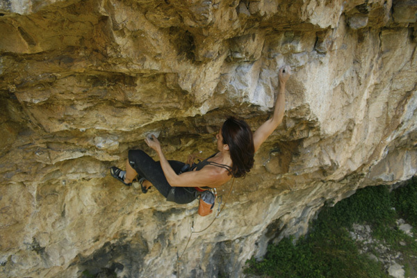 Claudia Giglio sale Superwife 8a+, Luca Biondi