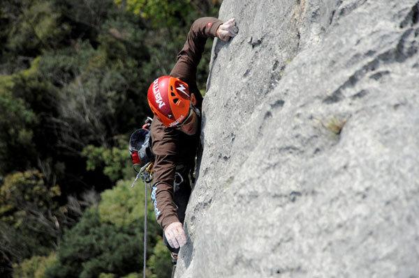 Nicola Tondini on pitch 3 of Testa o Croce (8b max, 7c obl.), Monte Cimo - Val d'Adige, Paola Finali