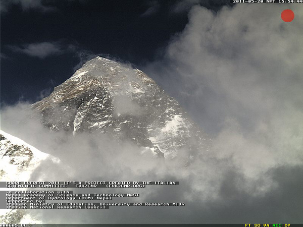 Everest webcam, Planetmountain.com