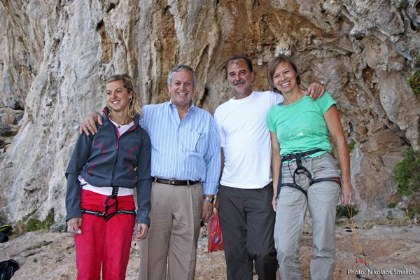 2011 Kalymnos Climbing Festival, Nikolaos Smalios