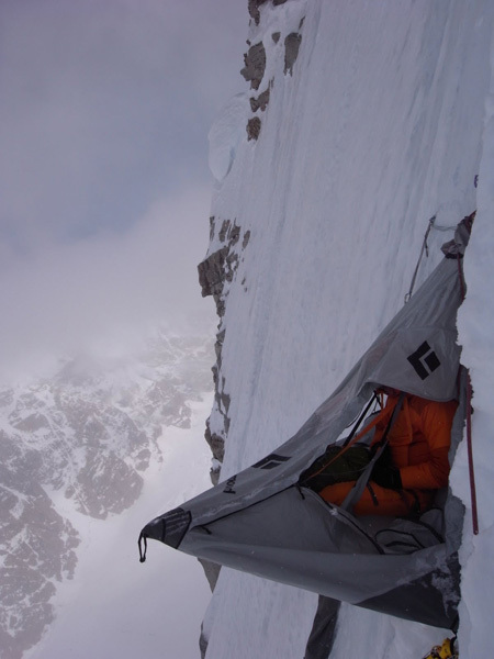The Cartwright Connection -  the North Face of Mt. Hunter, Alaska. FA Jon Bracey and Matt Helliker 13 – 18 May 2011 Ca 6000ft, Alaskan grade 6 (M6, AI6, 5.8, A2), Helliker & Bracey