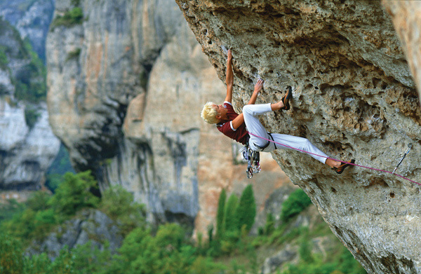 Liv Sansoz alle Gorges du Tarn, Francia, Simon Carter
