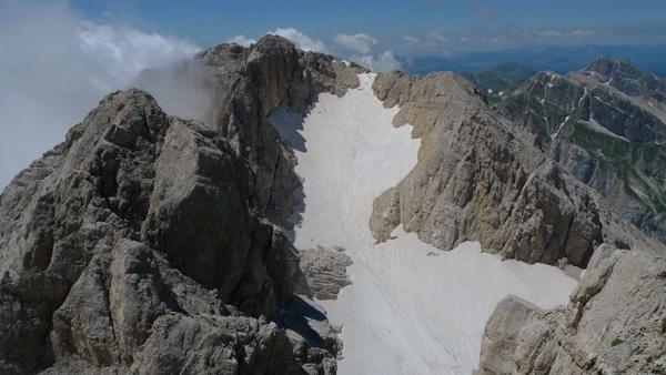Corno Grande e Ghiacciaio del Calderone, Luca Mazzoleni