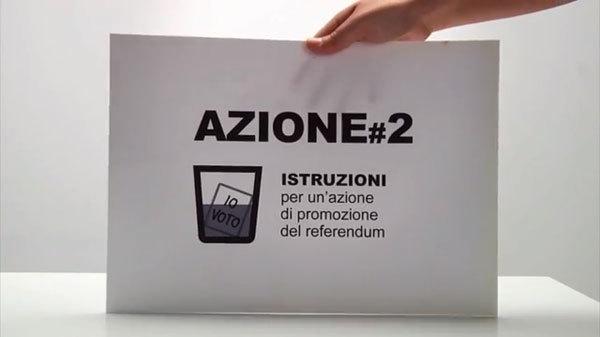 Istruzioni per un'azione di promozione dei referendum. 12-13 giugno 2011., Planetmountain.com