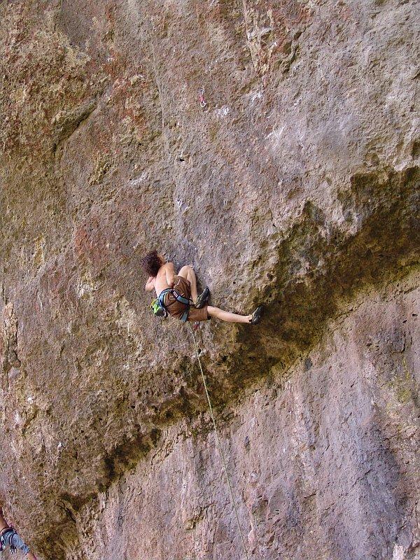 Adam Ondra climbing Nemecko, Frankenjura, Germany, Jirka Sika