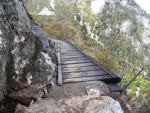 Mini trekking Monte Aviolo, Jimmy Sabbadin