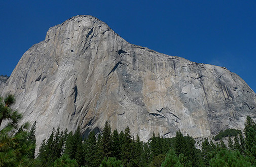 El Capitan, the symbol of Yosemite Valley, USA, Anthamattens