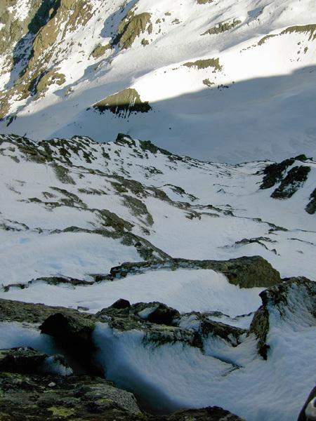La salita di Apnea, lungo la parete nord del Pizzo Painale (3248m) Gruppo dello Scalino, Alpi retiche., Francesco Forni