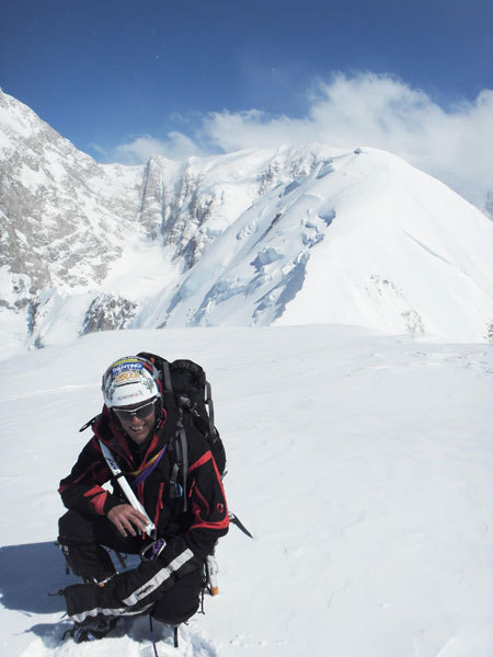 Kahiltna Peaks West (3914m, Gruppo del McKinley-Denali, Alaska), arch. Giovannini - Meraldi