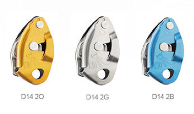 GRIGRI2 orange, GRIGRI2 grey, GRIGRI2 blue, Petzl