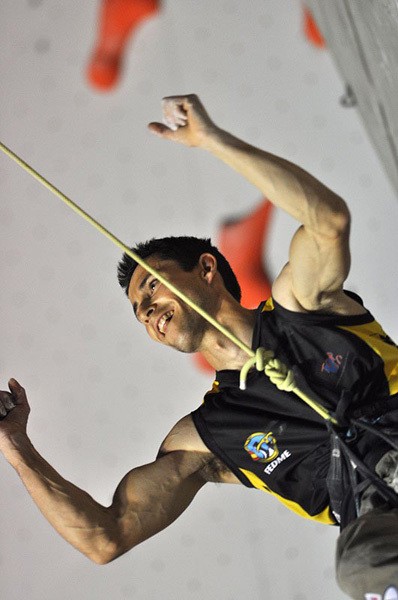 Ramón Julian Puigblanque, nominated for the La Sportiva Competition Award 2011, Giulio Malfer