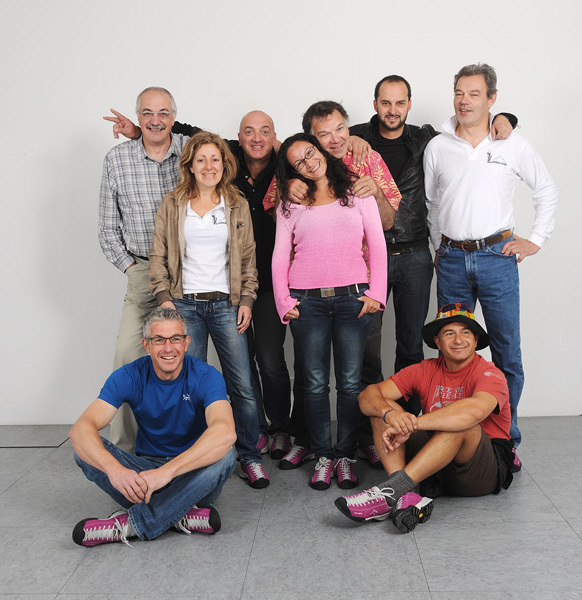 Il gruppo di Cortina inCroda, Planetmountain.com