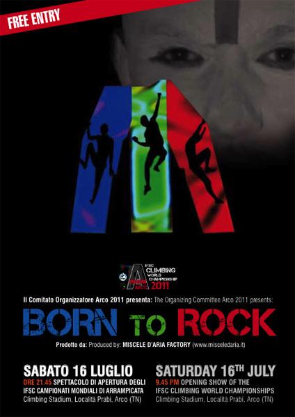Born to Rock, spettacolo di apertura degli IFSC Campionati Mondiali, Planetmountain.com