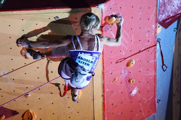 Angela Eiter: Climbing World Cup 2011 in Chamonix, Lucio De Biase