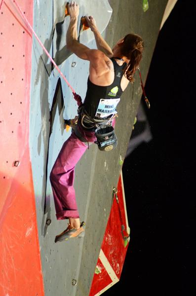 Mina Markovic: Climbing World Cup 2011 in Chamonix, Lucio De Biase