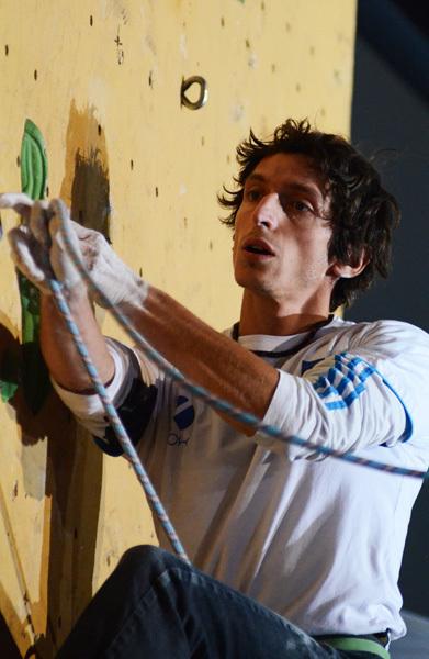 Romain Desgranges: Coppa del Mondo 2011 a Chamonix, Lucio De Biase