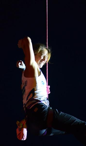 Angela Eiter: Coppa del Mondo 2011 a Chamonix, Lucio De Biase