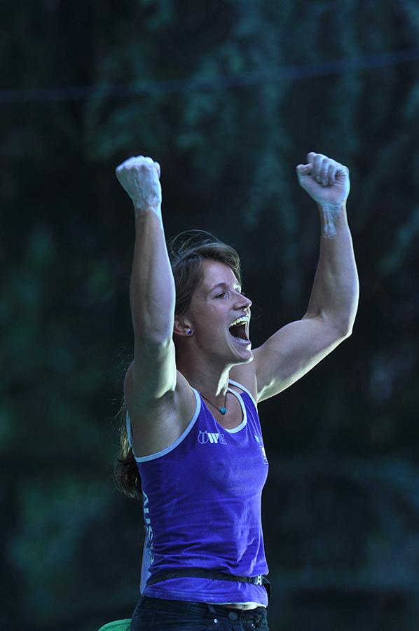 Anna Stöhr, Campionessa del Mondo Boulder 2011, Giulio Malfer