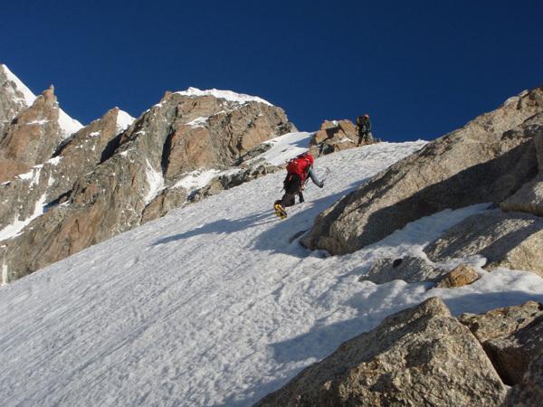 Cresta Kuffner, Mont Maudit, Monte Bianco, Cain Olsen