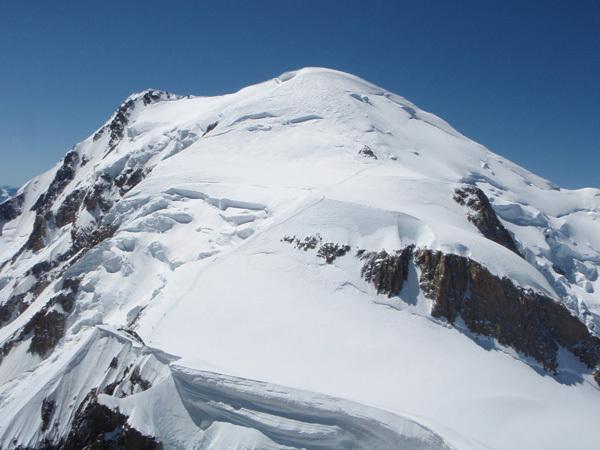 Cresta Kuffner, Mont Maudit, Mont Blanc, Cain Olsen