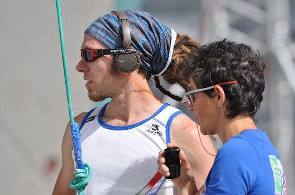 Simone Salvagnin, Lisa Benetti - Campionato del mondo ParaClimbing Arco 2011, Giulio Malfer