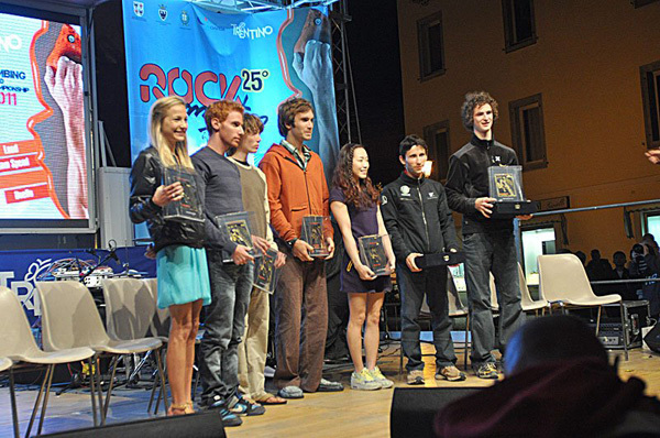 Sasha DiGiulian, Gabriele Moroni, Enzo Oddo, Chris Sharma, Jain Kim, Ramon Julien Puigblanque & Adam Ondra, Giulio Malfer