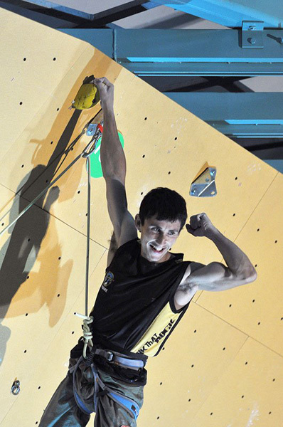 Ramón Julian Puigblanque, World Champion in Arco, Giulio Malfer