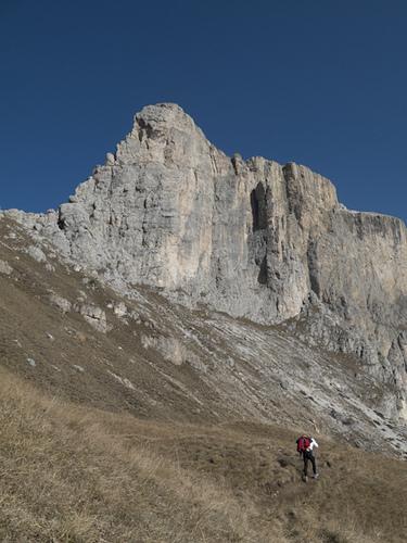 Avvicinamento alla Prima Torre del Sella., Alberto De Giuli