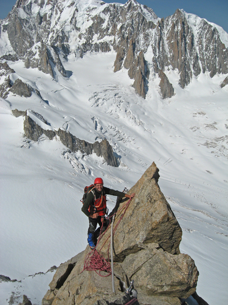 The Dente del Gigante (4013m), Mont Blanc, Gianni Lanza