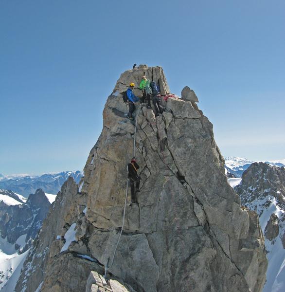 Il Dente del Gigante (4013m), Monte Bianco, Gianni Lanza