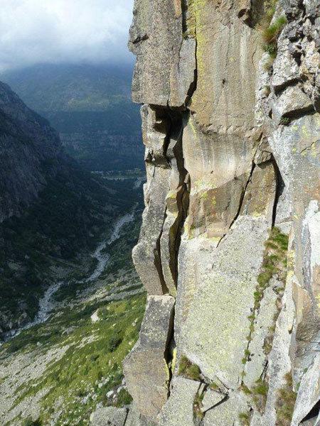 Posti da arrampicata Trad..., arch. A. Giorda