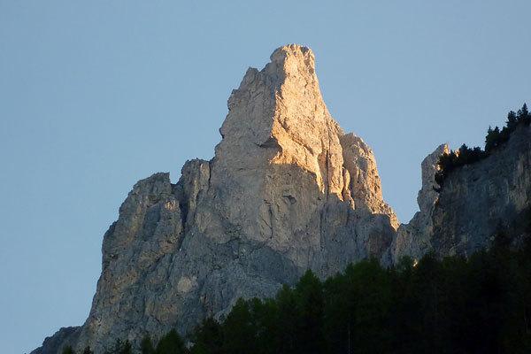 Spiz delle Roe de Ciampiè, Larsec, Val di Fassa, Dolomiti, arch. Mario Prinoth