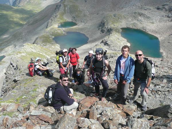 Tour dell'Albiolo, Ortles - Cevedale, Uberto Piloni
