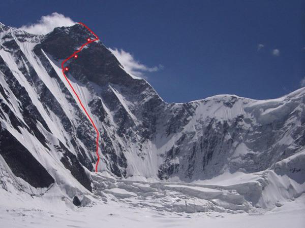 Peak Prezhevalskogo, 6240m, Denis Urubko