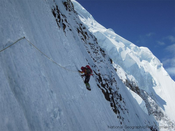 Gerlinde Kaltenbrunner, Ralf Dujmovits/National Geographic