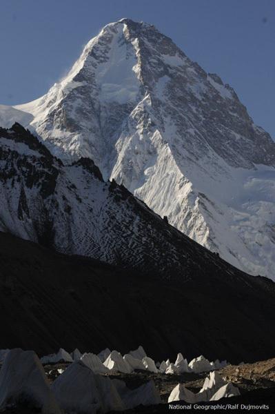 Il K2, 8611m e la lunga cresta nord, Ralf Dujmovits/National Geographic