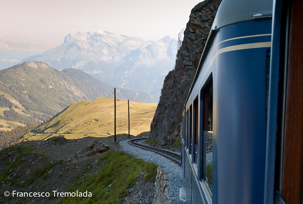 A view from the TNB tramway, Francesco Tremolada