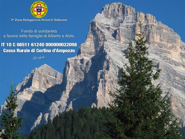 Fondo di solidarietà per Alberto Bonafede ed Aldo Giustina, Planetmountain.com