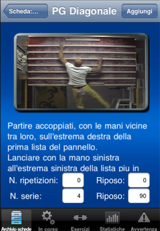 Climbing Training via the iPhone, developed by Allesandro Jolly Lamberti and Piero Amato., Planetmountain.com