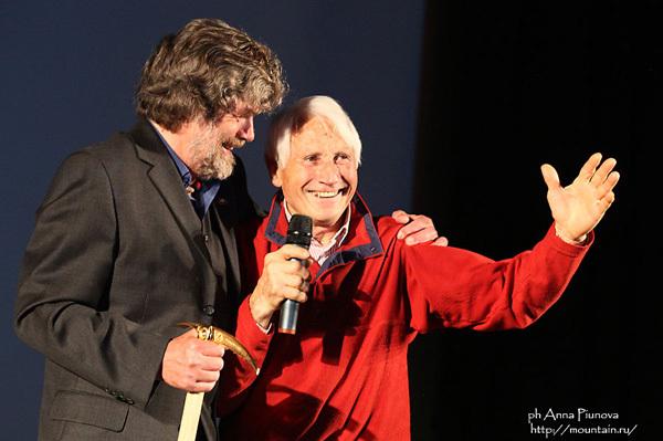 Reinhold Messner & Walter Bonatti, Anna Piunova