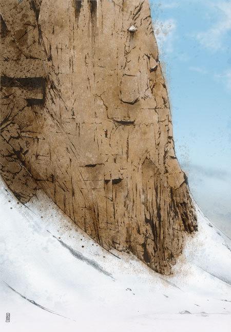Un uomo solo in parete, Alessandro Barison