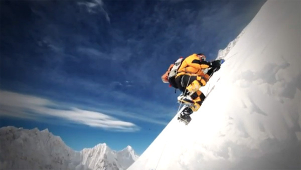 During the winter ascent of Gasherbrum II, Planetmountain.com