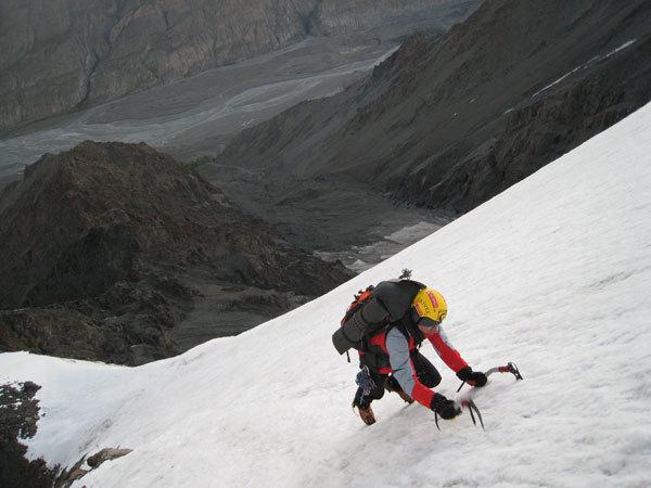 Kirghistan 2007, Luca Vuerich