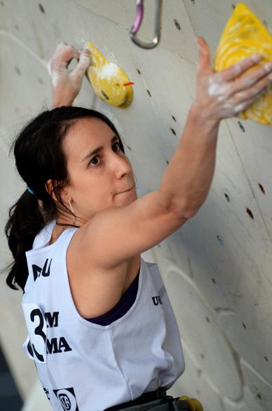 Coppa Italia Lead 2011: Manuela Valsecchi a Padova, Lucio de Biase